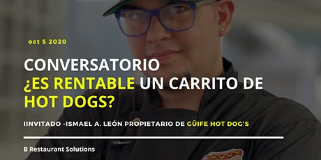 Conversatorio  ¿Es Rentable un Carrito de Hot Dogs? entradas