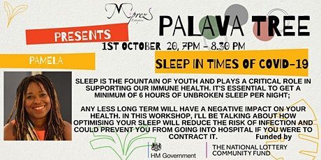 Palava Tree Webinar - Sleep in Times of COVID-19 tickets