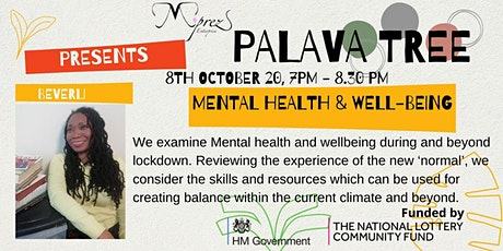 Palava Tree Webinar - Exploring Mental Health  and Well-being tickets