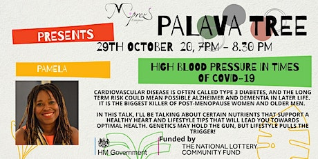 Palava Tree Webinar - High Blood Pressure tickets