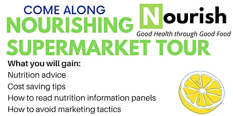 Nourishing Supermarket Tour tickets