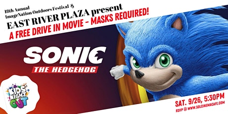 FREE! - Manhattan's Only Drive-In Movie Series,  feat. SONIC THE HEDGEHOG! tickets