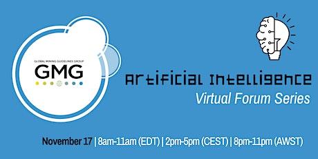 GMG Virtual Forum: Artificial Intelligence tickets