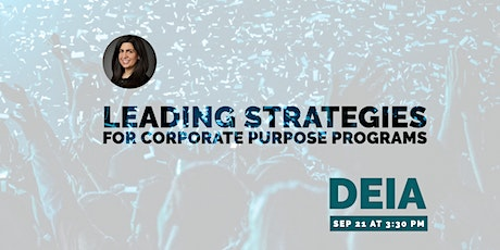 Leading Strategies for Corporate Purpose Programs with Guest Nicole Frisch tickets