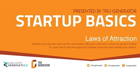 Startup Basics | Laws of Attraction tickets