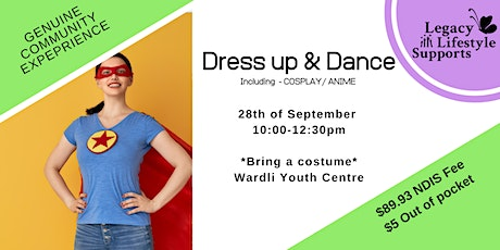 "Performing Arts '' DRESS UP & DANCE"" Cosplay and Anime! tickets"