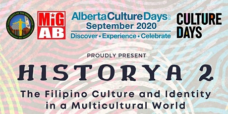 HISTORYA 2: The Filipino Culture and Identity in a Multicultural World tickets