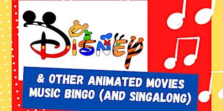 CVASA Disney Animated Music Bingo (and Singalong) tickets
