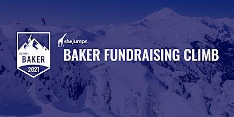 SheJumps Baker Fundraising Climb + Ski 2021 tickets