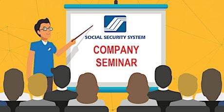 SSS Company Seminar tickets
