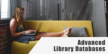 Advanced Library Databases tickets