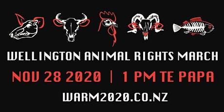 Wellington Animal Rights March 2020 tickets