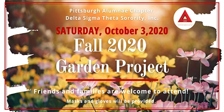 2020 Fall Garden Project tickets