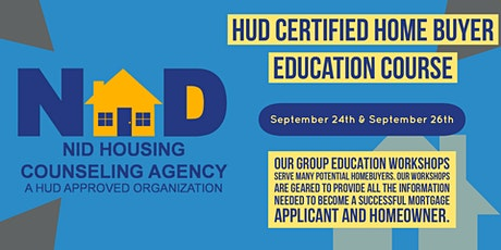 HUD Certified Homebuyer Education Course tickets