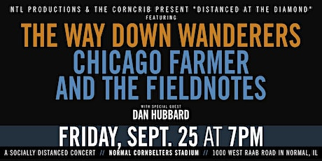 The Way Down Wanderers & Chicago Farmer and the Fieldnotes w/ Dan Hubbard tickets