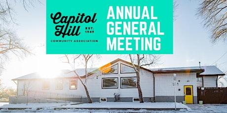 Capitol Hill Community Association AGM tickets