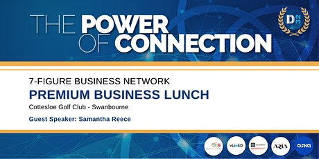 District32 Connect Premium Business Lunch - Thu 24th Sept tickets