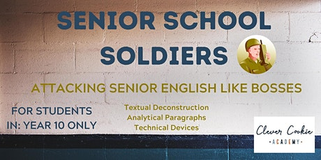 Senior Soldiers English (Year 10) tickets