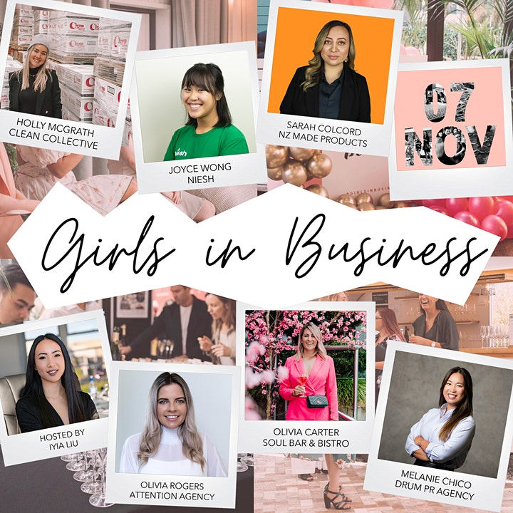 Girls in Business Networking Event image