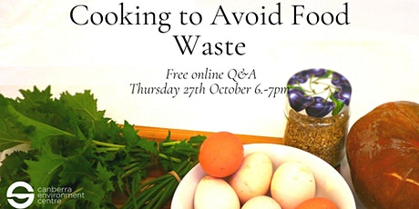 Cooking to Avoid Food Waste tickets