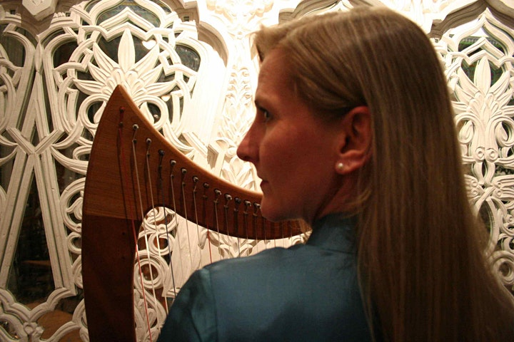 Harp and Reiki Healing Online Tranquil Tuesday image