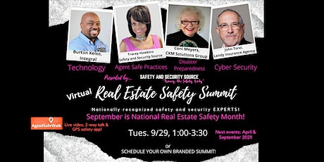 """Virtual Real Estate Safety Summit (hosted by """"Tracey, the Safety Lady"""") tickets"""