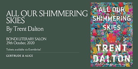 BONDI LITERARY SALON WITH TRENT DALTON, OCTOBER 2020 tickets