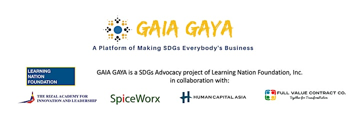 GAIA GAYA #15: Our World Game - Taking the world from today into the future image