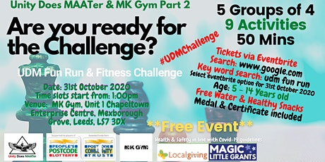 UDM Fun Run & Fitness Challenge at MK Gym PART 2 tickets