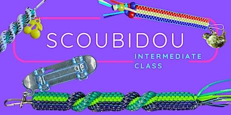 Scoubidou!  Intermediate Projects- Includes Fun Patch tickets