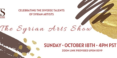 The Syrian Arts Show tickets