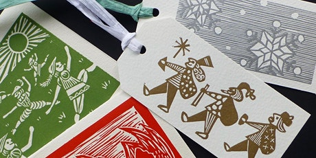 Lino Cut Christmas Prints Workshop tickets