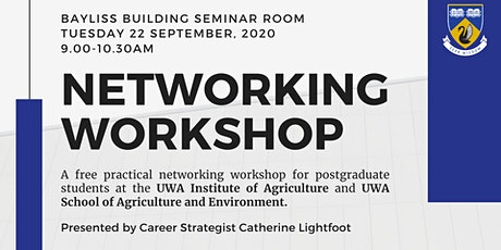 Networking Workshop for IOA & SAgE Postgrad Students tickets