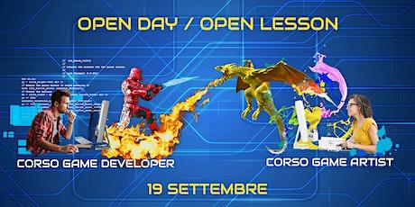 Open Day/Open Lesson 19 settembre biglietti