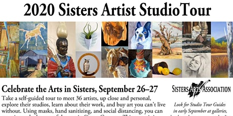 Sisters Artist Studio Tour – Sat-Sun, 10a-4p, Sep 26 & 27, 2020 tickets
