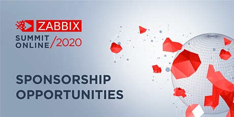 Sponsorship Zabbix Summit Online 2020 tickets