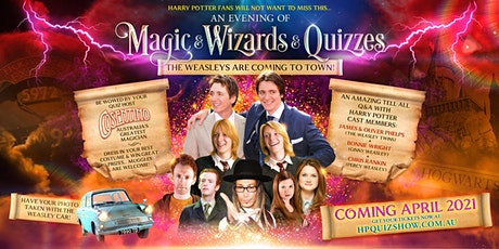 AN EVENING OF MAGIC & WIZARDS & QUIZZES - BENDIGO tickets