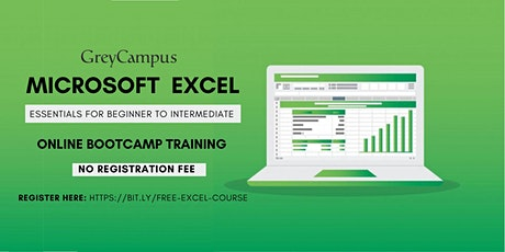 Free Microsoft Excel Training: Essentials for Beginner to Intermediate tickets