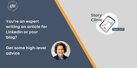 Weekly Story Clinic tickets