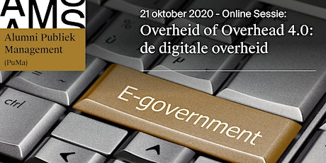 Overheid of Overhead 4.0: de digitale overheid billets