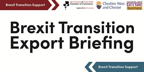 Brexit Transition Export Briefing tickets