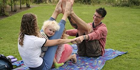 Yoga at the Botanics: Family Yoga tickets