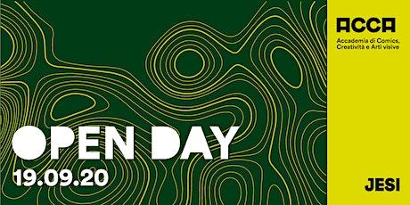 Open Day 19 Settembre - Jesi biglietti