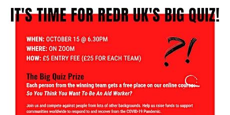 The Big RedR Quiz tickets