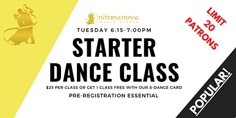 [ OCTOBER ] Join 4 Adult Starter Ballroom & Latin Dance Classes! tickets