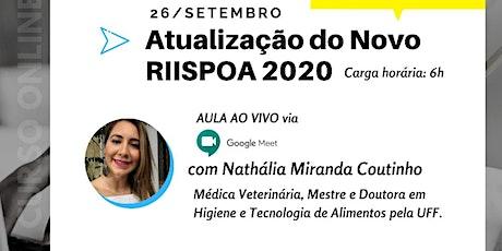 Atualização RIISPOA 2020 bilhetes