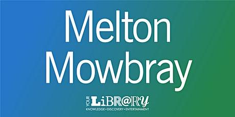 Melton Mowbray Library Visit - September tickets