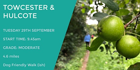 TOWCESTER & HULCOTE DAYTIME WALK | 4.6 MILES | MODERATE | NORTHANTS tickets