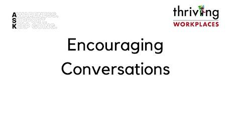 ASK Webinars - Encouraging Conversations tickets
