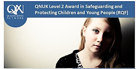 QNUK Level 2 Award in Safeguarding and protecting children and Young People tickets